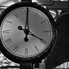 Two  timer by Gordon Simpson - Black & White Objects & Still Life