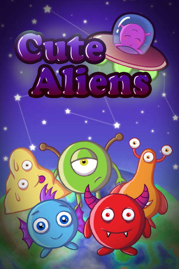 Cute Aliens - Match 3 Invasion- screenshot
