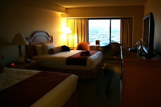 Photo: We got a Luxury Room in the Skyline Tower, with terrific off-season rates.