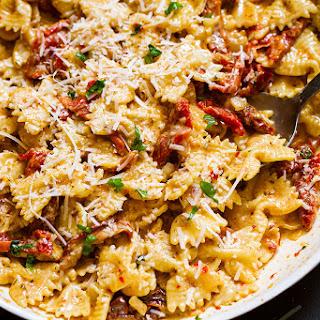 Creamy Sun-Dried Tomato Pasta Recipe