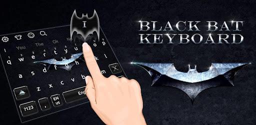 Black Bat Keyboard Theme app (apk) free download for Android/PC/Windows screenshot