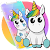 Cute Colorful Cartoon Unicorn Theme file APK for Gaming PC/PS3/PS4 Smart TV