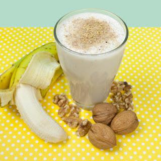 Walnut and Banana Smoothie.