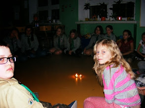 Photo: Harcerska nocka w szkole