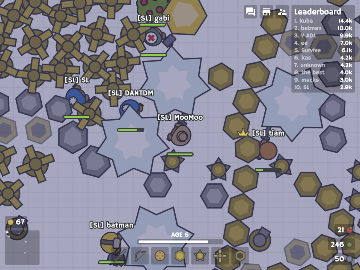 MooMoo.io (Official)- screenshot