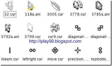free mouse cursor,change mouse cursor,動態滑鼠游標,cute-white