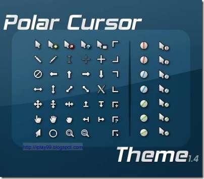 free mouse cursor,change mouse cursor,動態滑鼠游標,PolarCursor