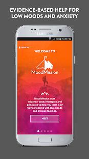 MoodMission - náhled