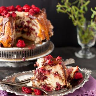 Raspberry Chocolate Coffee Cake - Sweet Weekend.