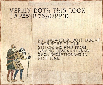 shopped tapestry