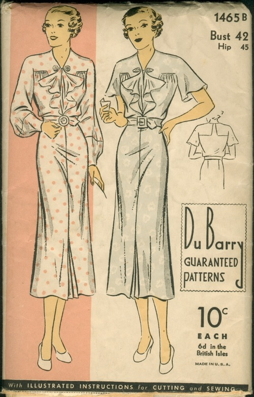 DB1465B Vintage Sewing Patterns For Sale