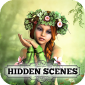 Hidden Scenes - Free Fairy Puzzle Adventure Game Android APK Download Free By Hidden Scenes Games By Difference Games LLC