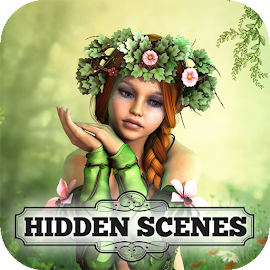 Hidden Scenes - Free Fairy Puzzle Adventure Game