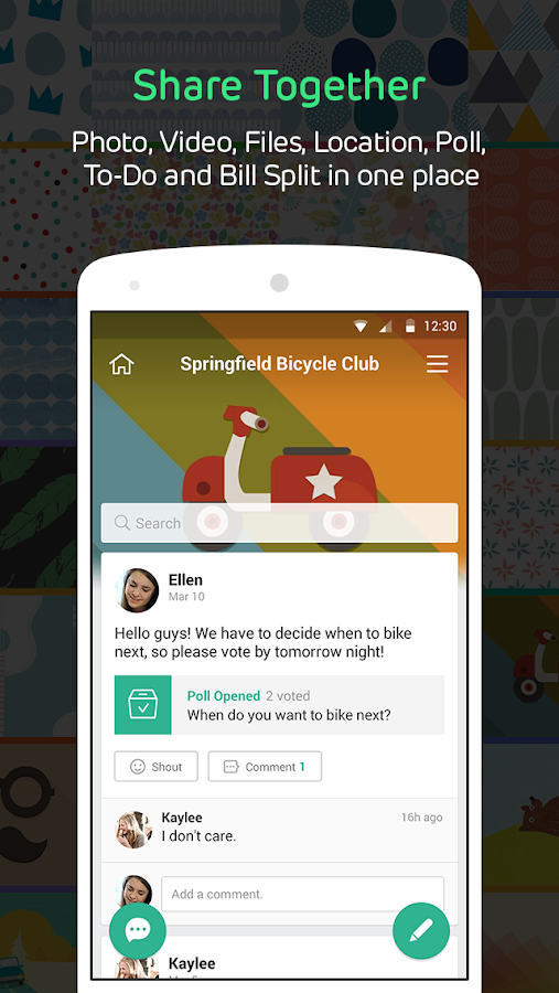 BAND – The Ultimate Group App - screenshot