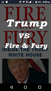Trump vs Fire & Fury - náhled