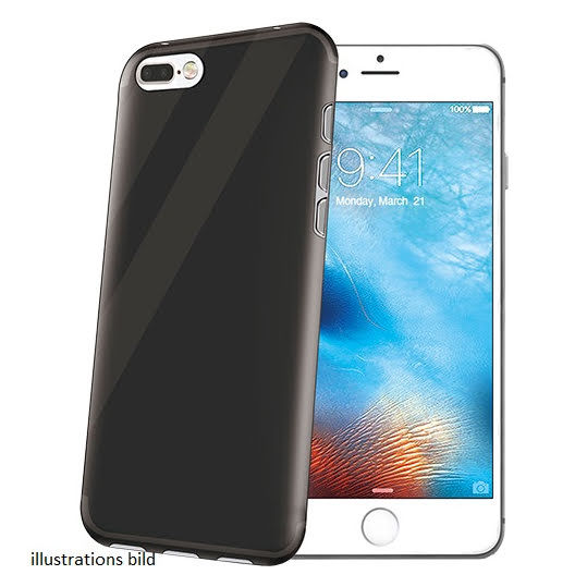 Celly Cover Gelskin iPhone 7 Plus/8 Plus Svart