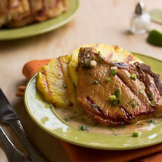 Pina Colada Ribeye Bone-in Pork Chops.