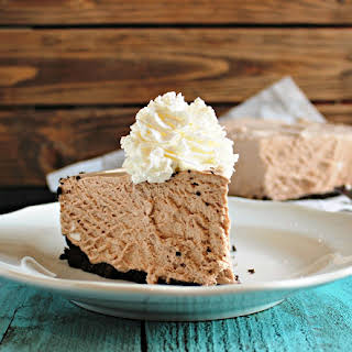 Frozen Hot Chocolate Cheesecake.