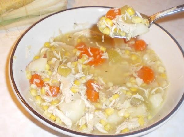 Organic Chicken And Veggie Soup Recipe