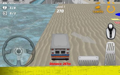 無料角色扮演Appの市救急車駐車場3D|記事Game