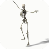 Dancing Skeleton Video LWP