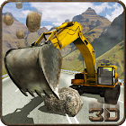 Heavy Excavator Rescue Truck icon