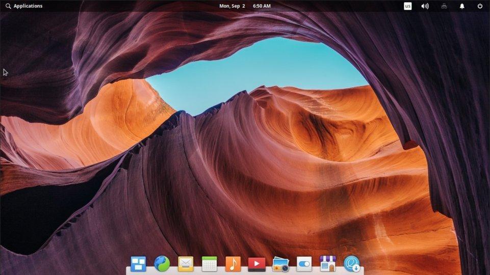 Elementary OS (Pantheon desktop environment)