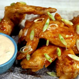 Crispy Ginger Thai Wings.