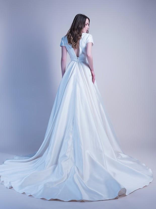 Robe de mariée dos nu Barbara