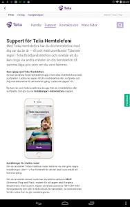 Telia Hemtelefoni screenshot 8