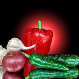 Ingredients  by Asif Bora - Food & Drink Fruits & Vegetables (  )