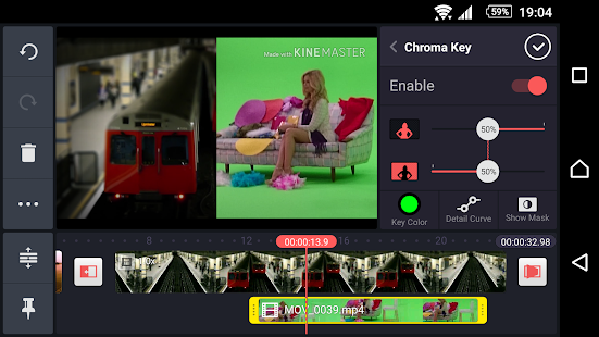 KineMaster – Editor Video Pro: miniatura de captura de pantalla