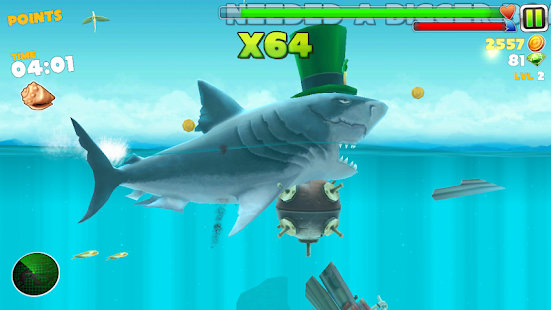 Cheat Hungry Shark Evolution (New) - náhled