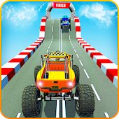 Monster Truck Impossible Mega Ramp Stunts Tracks Android APK Download Free By Trapez Blow