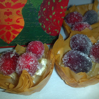 Frosted Cranberry Tartlets