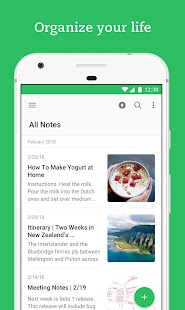Evernote – Organizer, Planner for Notes & Memos Screenshot