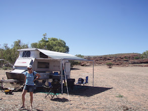 Photo: Murchison Station camp