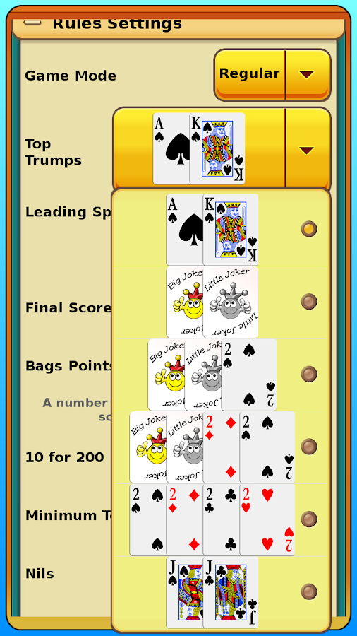 Spades- screenshot