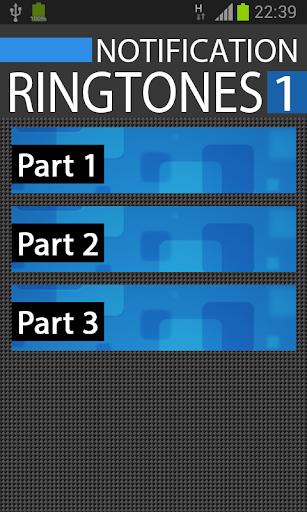 Notification SMS Ringtones 1
