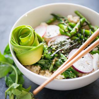Vegan Sushi Rice Bowls