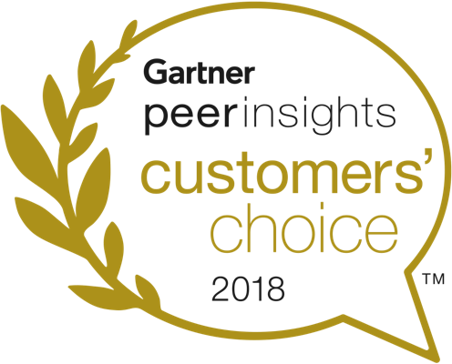 Gartner Peer Insights Customer's Choice 2018