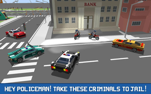 Blocky Police Driver: Criminal Transport 1.4 screenshots 3