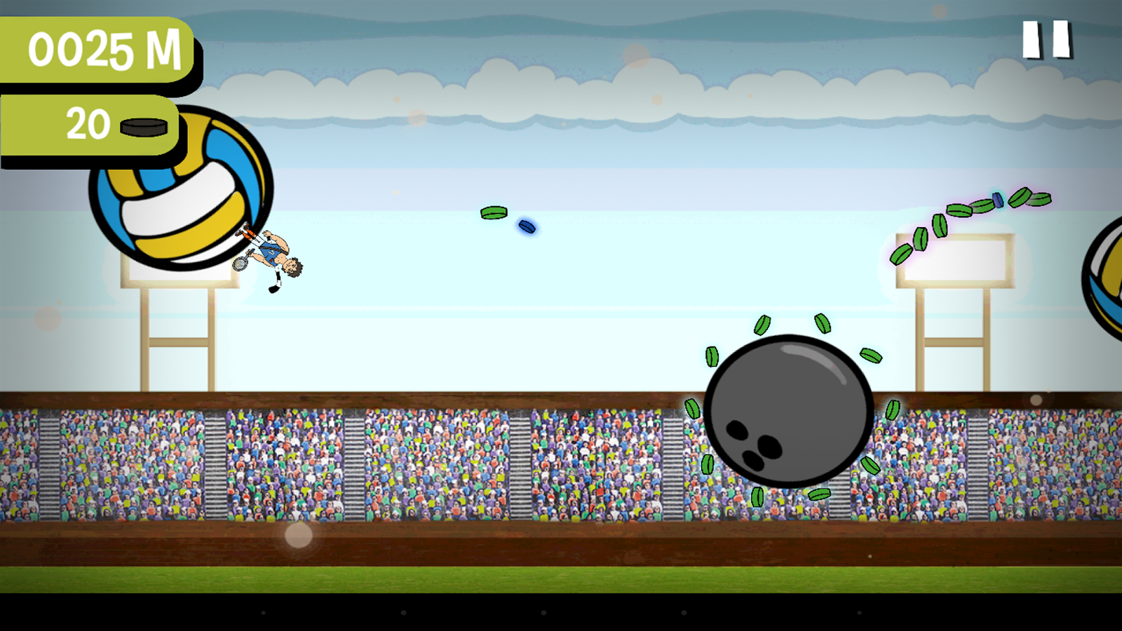 Captain Balls- screenshot