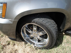 Photo: Nitto420s tires on 22 inch Foose rims Buy at http://www.AvalancheAndAccessories.com Buy other auto and truck accessories at: http://www.AutoAccessoriesNow.com