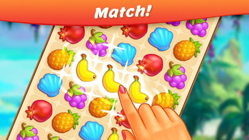 Tropical Forest: Match 3 Story  Wallpaper 3