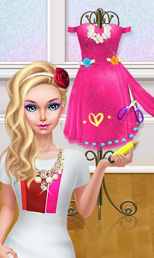 Fashion Doll Shopping Day Spa Dress Up Games
