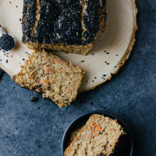 Carrot Bread with Black Sesames