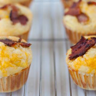 Bacon and Egg Cornbread Muffins Recipe