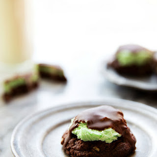 Mint Brownie Cookies (Video)