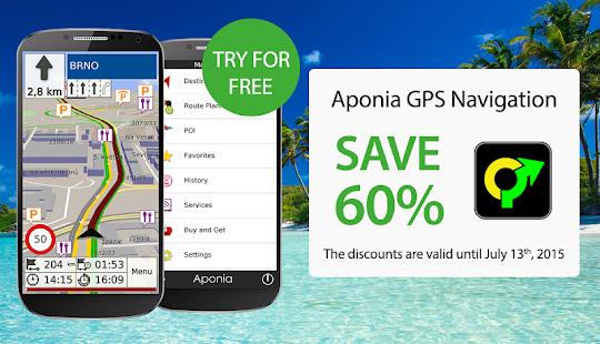 GPS Navigation & Map by Aponia - screenshot thumbnail
